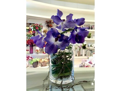 Skleněná váza OSAKA